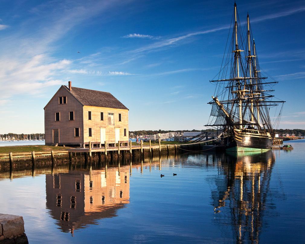 The Friendship on Salem Harbor (Jeff Weeks/Flickr)