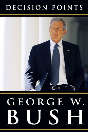 George W. Bush's memoir was the best-selling book on Amazon.com in Massachusetts on Black Friday weekend.