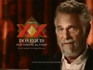 The Most Interesting Man In The World went to BU.