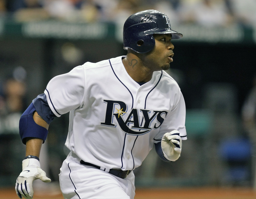 Carl Crawford reportedly agreed to a contract with the Red Sox today. (AP)