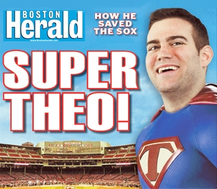 The Boston Herald easily wins Front Page of the Day.