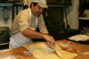 Mohammad at work in Tabrizi Bakery in Watertown