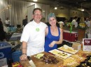 Chef Andy Husbands (Honorary Co-Chair) and Katie Burchman of Tremont 647