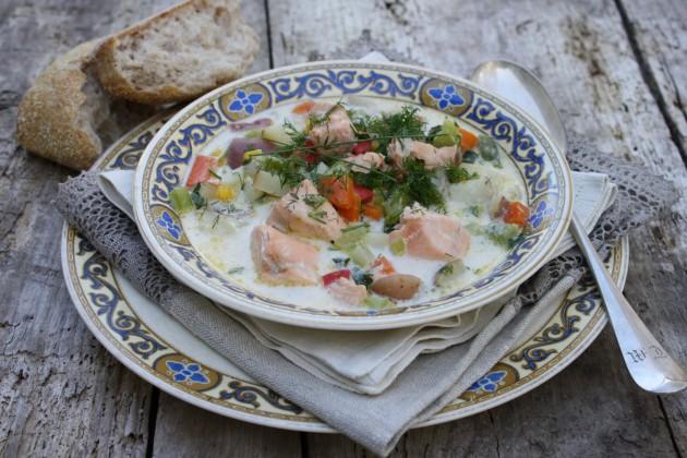 Норвежский суп рецепт фото